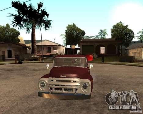ZIL 130 Tempe ardente Final para GTA San Andreas vista direita
