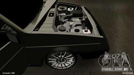 VAZ 2109 para GTA San Andreas vista superior