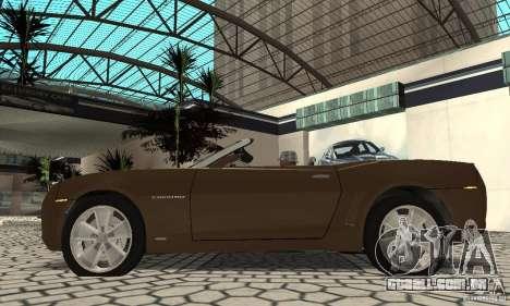 Chevrolet Camaro Concept 2007 para GTA San Andreas vista direita