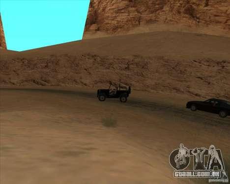 Duelo de vaqueiro para GTA San Andreas segunda tela