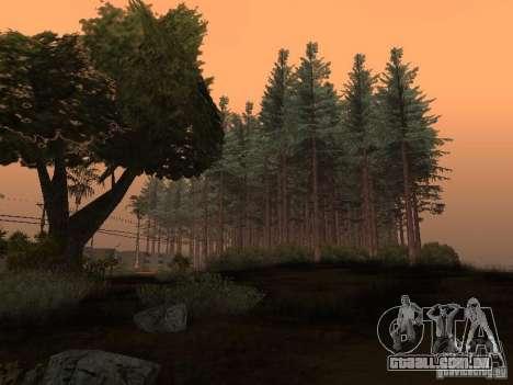 Floresta em Las Venturas para GTA San Andreas
