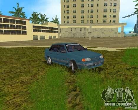 Lada 2115 para GTA Vice City vista traseira esquerda