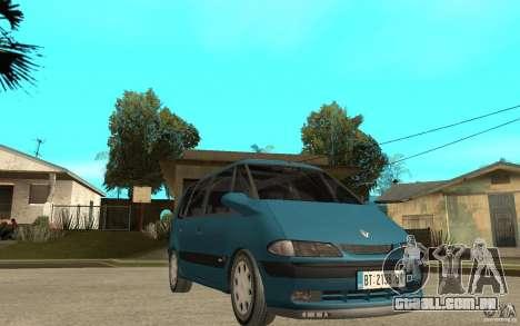 Renault Espace III 1999 para GTA San Andreas vista traseira