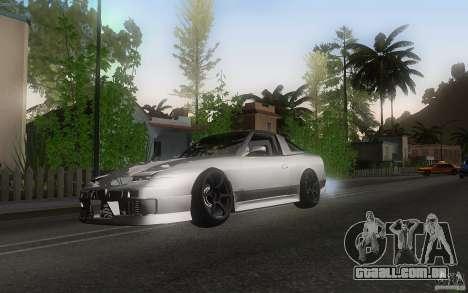 Nissan 180sx v2 para GTA San Andreas esquerda vista