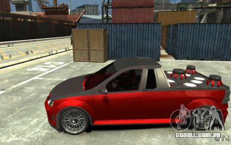 Dacia Pick-up Tuning para GTA 4 esquerda vista