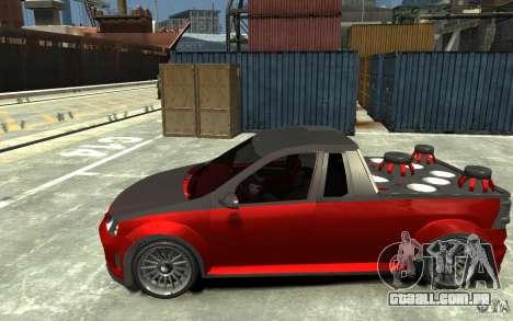 Dacia Pick-up Tuning para GTA 4 esquerda vista