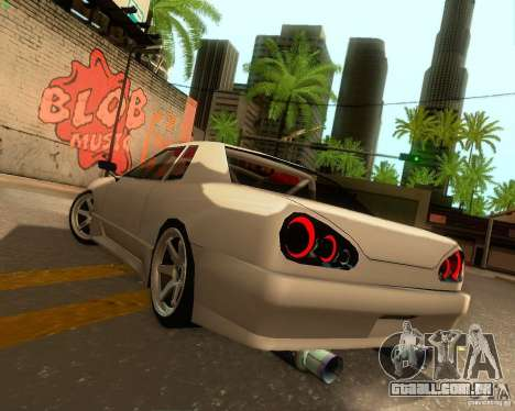 Elegy Drift Korch para GTA San Andreas vista superior