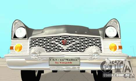 GAZ 13 Chaika v 2.0 para GTA San Andreas vista superior
