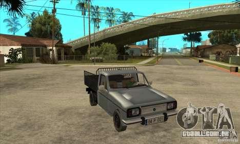 Anadol Pick-Up para GTA San Andreas vista traseira