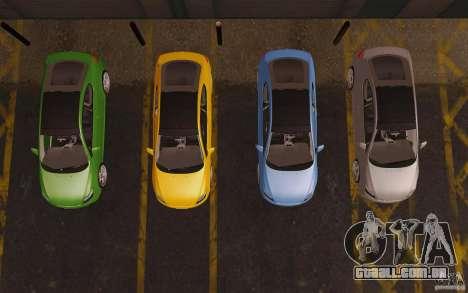 Scion tC para vista lateral GTA San Andreas