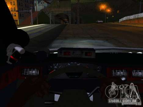 Chevrolet Impala NYPD para GTA San Andreas vista superior