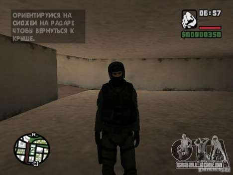 Umbrella soldier para GTA San Andreas