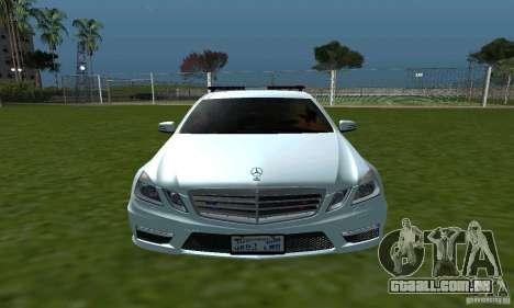 Mercedes-Benz E63 DPS para GTA San Andreas vista interior