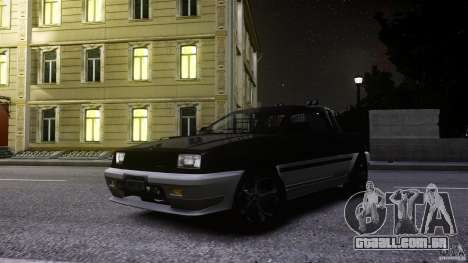 Blista Pick Up para GTA 4 vista interior
