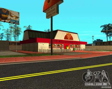 Comprar pizza para GTA San Andreas segunda tela