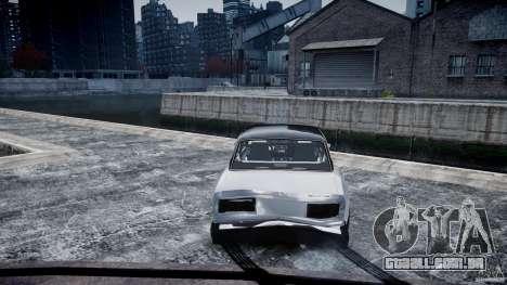ВАЗ 2107 Drift para GTA 4 vista lateral