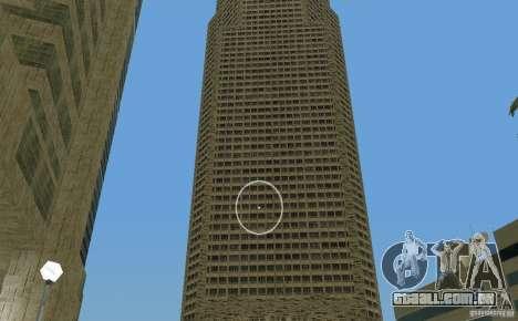 New Downtown: Hospital and scyscrap para GTA Vice City sétima tela