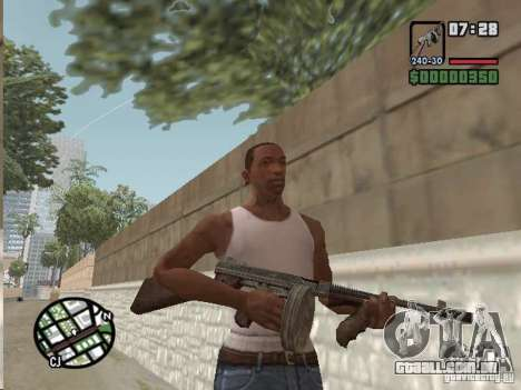 Mafia II Full Weapons Pack para GTA San Andreas sétima tela