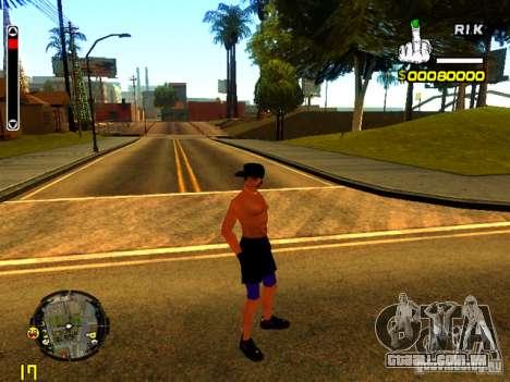Pessoas da praia para GTA San Andreas por diante tela