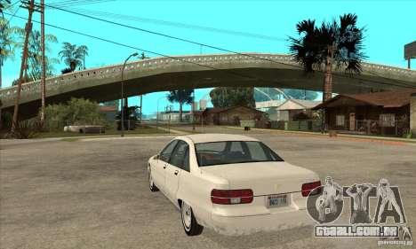 Chevrolet Caprice 1991 para GTA San Andreas vista traseira