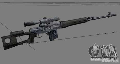 Um conjunto de armas do perseguidor V2 para GTA San Andreas segunda tela