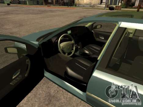 Renault Laguna II para GTA San Andreas traseira esquerda vista