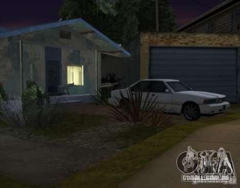 Armas e carros por todo o mapa para GTA San Andreas