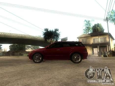 Serrano Stock para GTA San Andreas esquerda vista