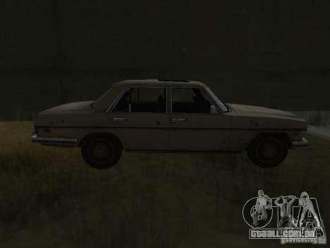 Mercedes-Benz de Call of Duty 4 para GTA San Andreas esquerda vista
