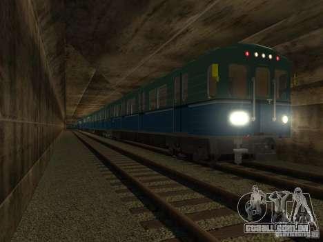 Metro e para GTA San Andreas vista direita