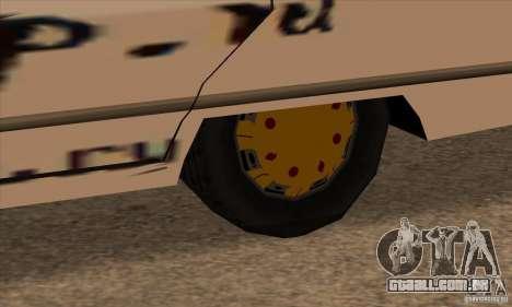 Pintura de savana para GTA San Andreas por diante tela