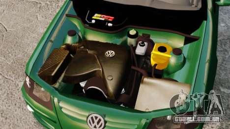 Volkswagen Gol G4 Edit para GTA 4 vista de volta