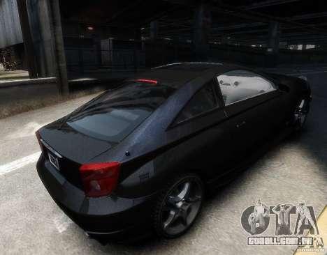 Toyota Celica para GTA 4 vista direita