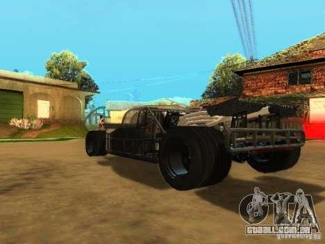 Fast & Furious 6 Flipper Car para GTA San Andreas vista inferior