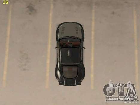 Mitsubishi Eclipse GT NFS-MW para GTA San Andreas vista traseira