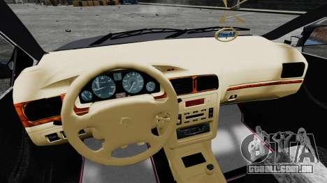 Iran Khodro Samand LX para GTA 4 vista de volta