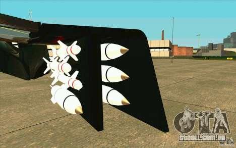 Aliens vs. Predator Marine Drobship para GTA San Andreas vista interior
