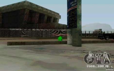 O negócio de reabastecimento para GTA San Andreas