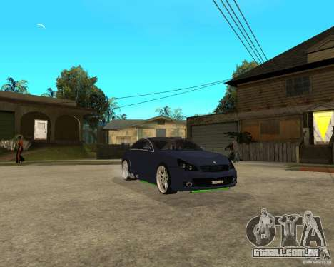 Mercedes-Benz CLS500 The GreenFairy TUNING para GTA San Andreas