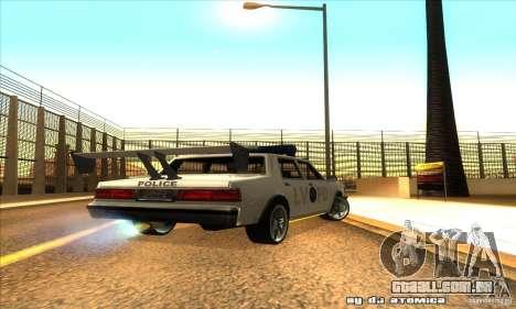 Police Hero v2.1 para GTA San Andreas vista direita