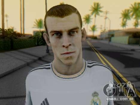 Gareth Bale para GTA San Andreas por diante tela