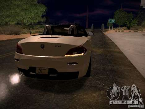 BMW Z4 sDrive28i 2012 para as rodas de GTA San Andreas