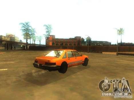 Crazy Taxi para GTA San Andreas vista direita