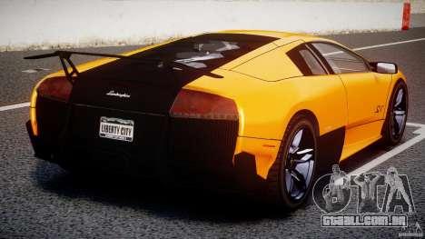 Lamborghini Murcielago LP670-4 SuperVeloce para GTA 4 interior