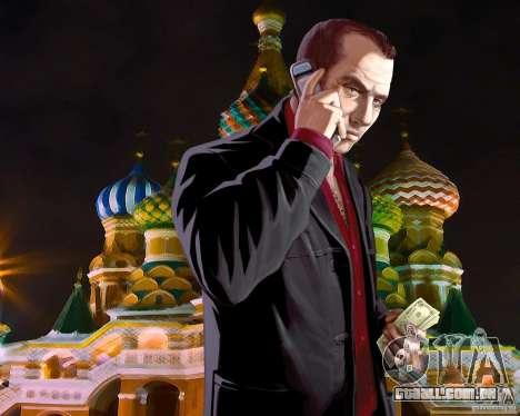 Tela de boot Rússia na América para GTA 4 sétima tela