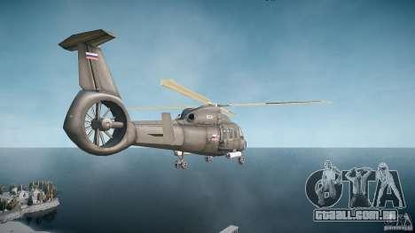 KA-60 Kasatka v1.0 para GTA 4 traseira esquerda vista