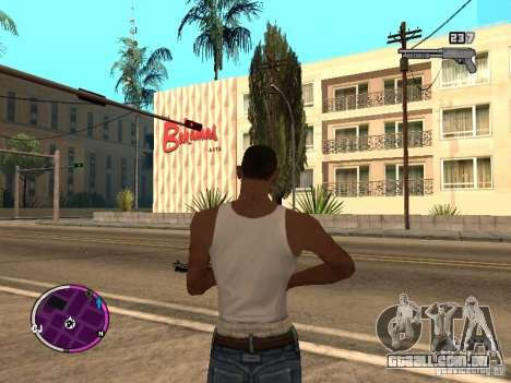 TBOGT HUD para GTA San Andreas terceira tela