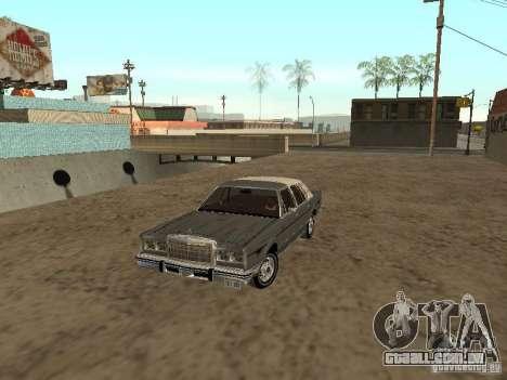 Lincoln Town Car 1986 para GTA San Andreas
