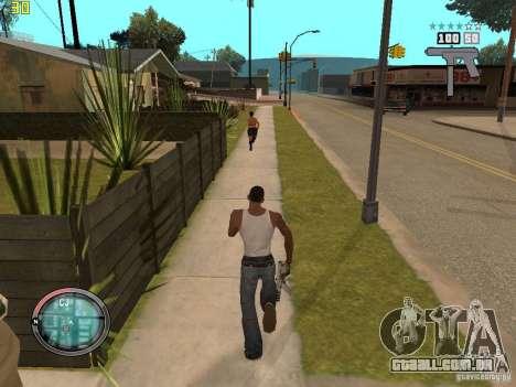 Adição para o GTA IV HUD para GTA San Andreas quinto tela
