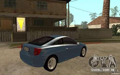 Toyota Celica SS2 para GTA San Andreas vista direita